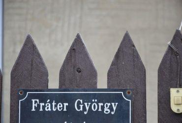 MUNKATERÜLET ÁTADÁS –Fráter György utca aszfaltozása