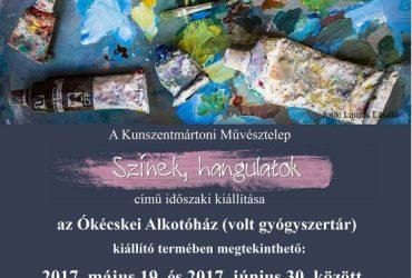 A Kunszentmártoni Művésztelep kiállítása