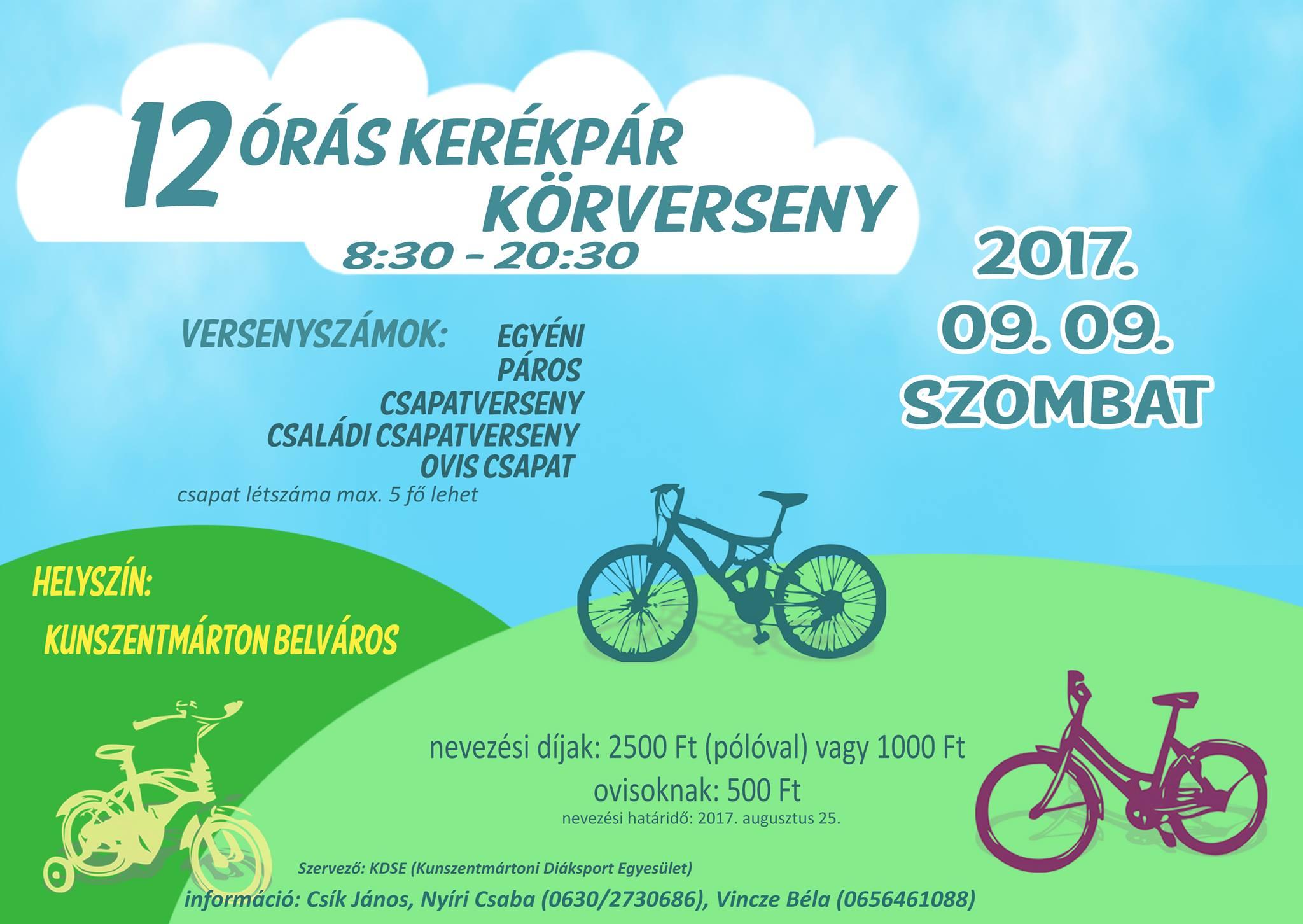 12 órás kerékpáros verseny