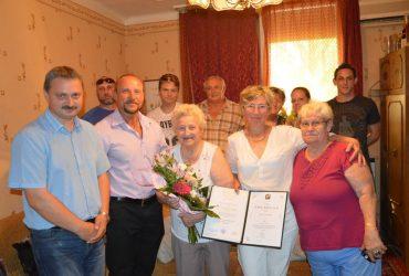 Sulcz Lászlóné Székely Julianna Éva néni 90 éves lett