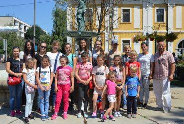 Városunkban a Verbőc-Feketepatakról érkezett vendégek