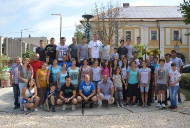 Városunkban a Csíkszentmártonról érkezett vendégek