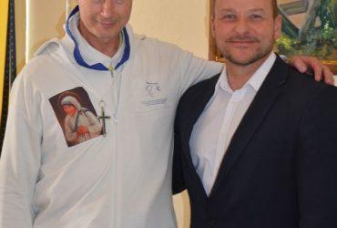Krisztián testvér látogatása