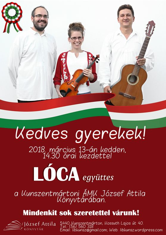 Lóca együttes_plakát
