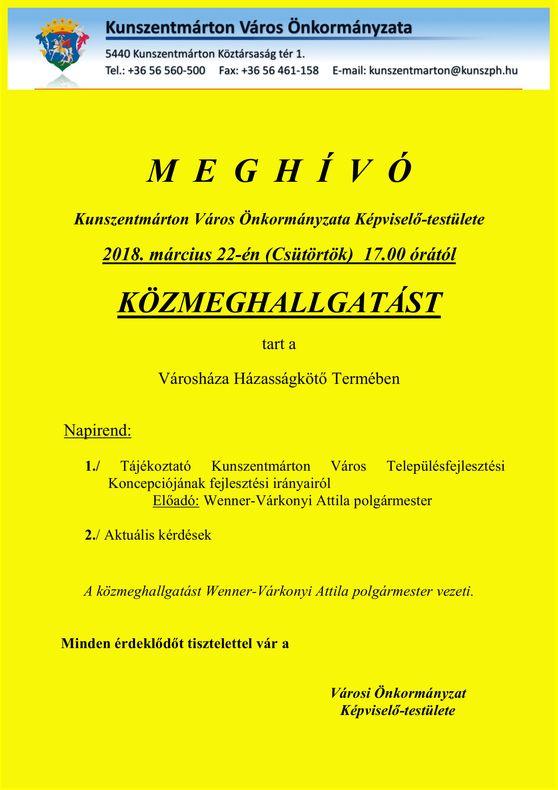 Plakát_2018márc_közmeghallgatás
