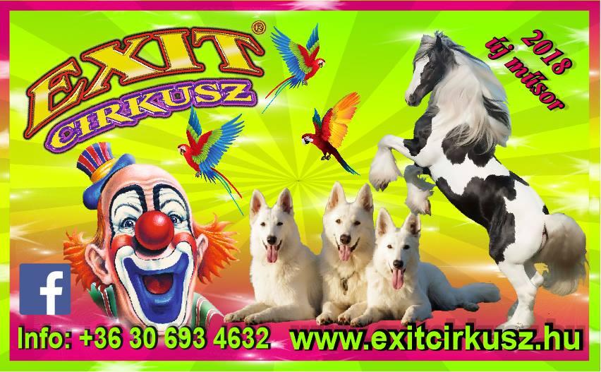Exit Cirkusz Plakát2018