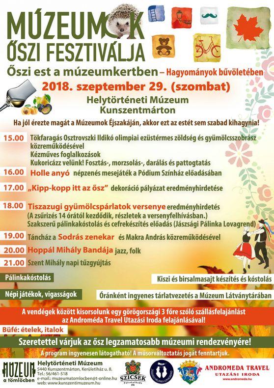 őszi fesztivál jó plakát