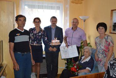 Marika néni 95 esztendős lett