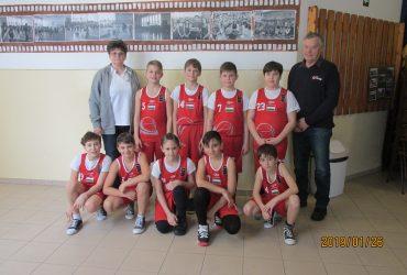 """Kosárlabda U12 3. Régió """"G"""" csoport 1. mérkőzés"""