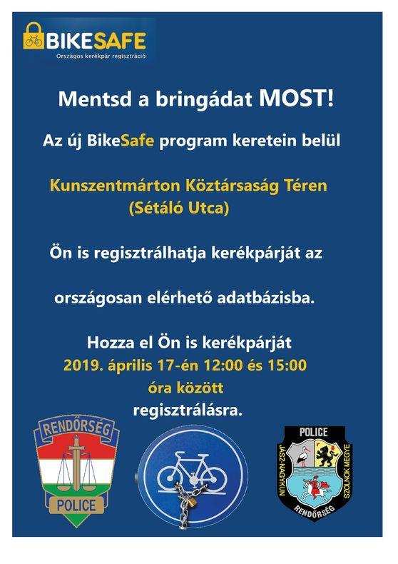 Kunszentmárton Bikesafe 20190417