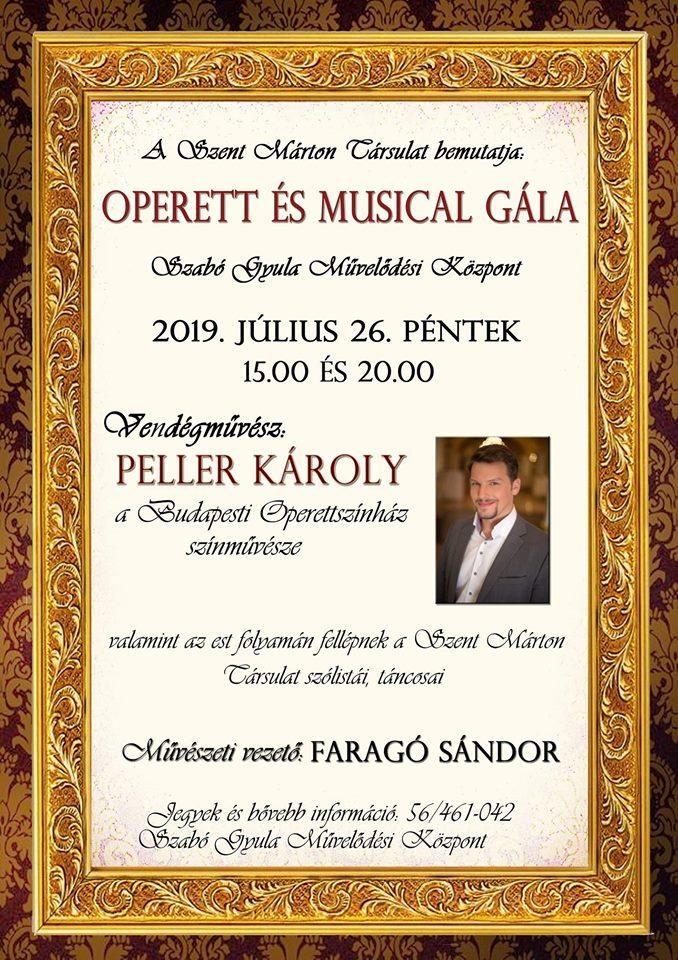 operett és musical gála