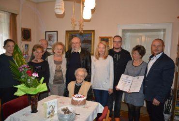 Rózsika néni 95 éves születésnapja