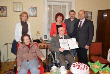 Imre Márton 95 esztendős lett