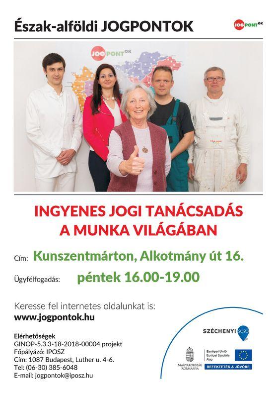 Kunszentmarton_jogsegély plakát